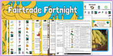Top 10 Fairtrade Fortnight Teaching Ideas Pack