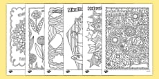 Mindfulness Colouring Sheets Pack