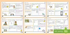 New Zealand Year 4 Spelling, Punctuation and Grammar Set 1 Activity Mats