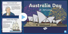Australia Day Information PowerPoint
