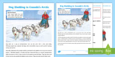 * NEW * Dog Sledding in Canada's Arctic Fact File