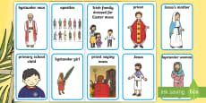 * NEW * Lent Aistear Role Play Badges