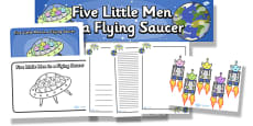 Five Little Men In a Flying Saucer Resource Pack