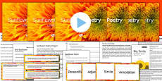 Sunflower Poetry Project Teaching Pack