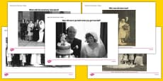 Elderly Care Life History Book Wedding Day Picture Prompts