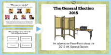 2015 General Election PowerPoint