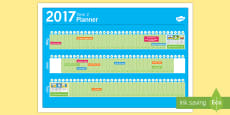 New Zealand Term 2 2017 Events Display Calendar