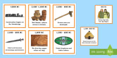 Bronze Age Timeline Ordering Activity