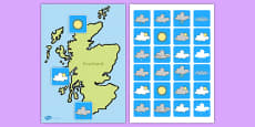 Scotland Weather Forecasting Role Play Pack