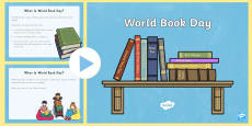 * NEW * World Book Day PowerPoint