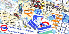London Underground Role Play Pack