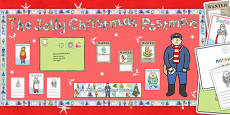 Ready Made Display Pack to Support Teaching on Jolly Christmas Postman