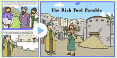 The Rich Fool Parable PowerPoint