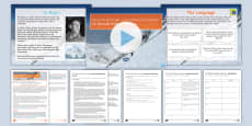 * NEW * AQA P2 Reading Booklet Lesson Pack to Support Teaching on Sir Edmund Hillary's Interview