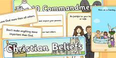 The Ten Commandments Display Pack