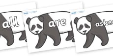 Tricky Words on Pandas