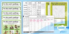 PlanIt Y4 Term 1B Bumper Spelling Pack