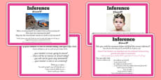 Guided Reading Skills Task Cards Inference Arabic Translation