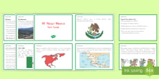 All About Mexico Fact Cards
