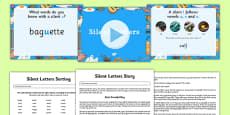 Silent Letters Activity Pack