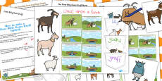 Billy Goats Gruff Lapbook Creation Pack