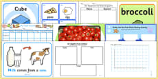 Food KS1 Lesson Plan Ideas and Resource Pack
