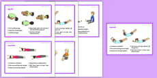 Foundation PE (Reception) - Gymnastic Rolls Support Cards