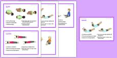 Foundation PE (Reception) - Gymnastic Rolls Support Cards