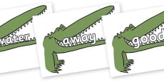 Next 200 Common Words on Enormous Crocodile to Support Teaching on The Enormous Crocodile