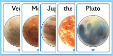 Our Solar System Display Posters (Australia)