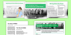 The Christmas Truce: An Introduction to War Poetry Lesson Pack