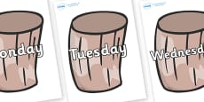 Days of the Week on Drums