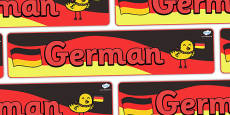 German Display Banner