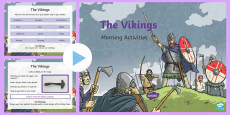 1 Week Viking Topic Morning Activities LKS2