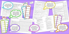 2014 Curriculum UKS2 Years 5 and 6 English Assessment Resource Pack