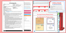 One More Letter EYFS Adult Input Plan And Resource Pack to Support Teaching on The Jolly Christmas Postman