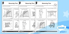 Measuring Time Home Learning Tasks