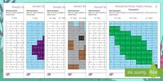 Ronald the Rhino Mixed Operations Maths Mosaic
