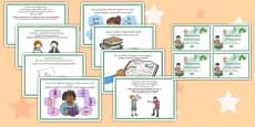 Reading Area Challenge Cards Editable Romanian Translation
