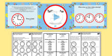 Telling the Time Boat Trip Times PowerPoint Task Setter