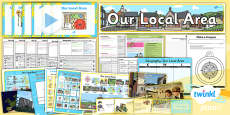PlanIt - Geography Year 1 - Our Local Area Unit Pack