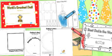 Australia - Father's Day Resource Pack for Childminders