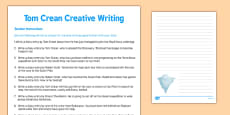 Tom Crean Creative Writing