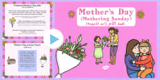 Mother's Day PowerPoint Presentation Arabic Translation