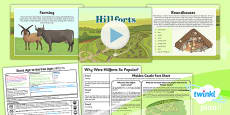 PlanIt - History UKS2 - Stone Age to the Iron Age Lesson 5: Hillforts Lesson Pack