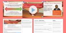 Forgiveness and Reconciliation Lesson Pack