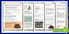 KS1 Bonfire Night Differentiated Reading Comprehension Activity Pack
