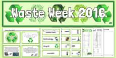 Waste Week 2016 Resource Pack