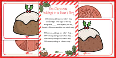 Five Christmas Puddings in a Bakers Shop Song Pack