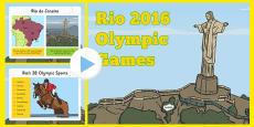 KS1 (Age 5-7) Rio Olympics 2016 Information PowerPoint